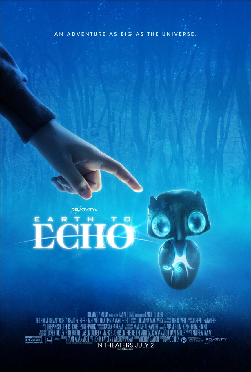 Earth to Echo French Poster